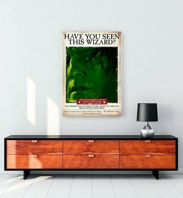 Harry Potter Wizard Snape kanvas tablo