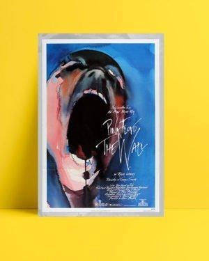 Pink Floyd The Wall müzik afişi