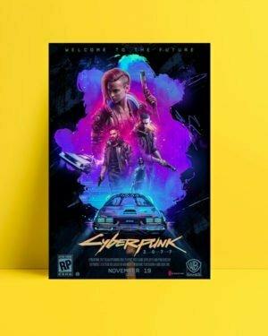 cyberpunk 2077 Oyun Afişi