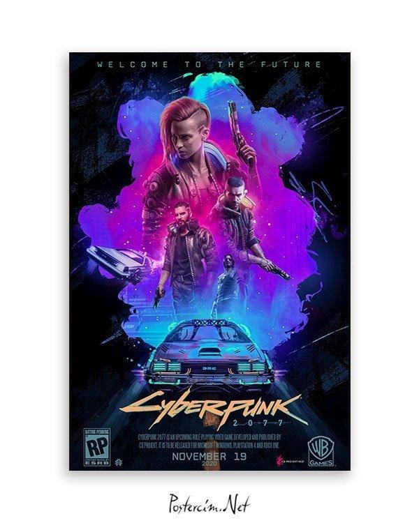 cyberpunk 2077 Oyun Poster