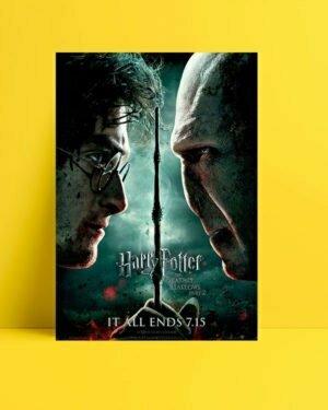 Harry Potter ve Ölüm Yadigârları 2 Afişi