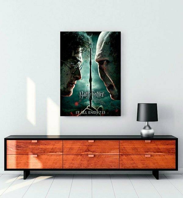 Harry Potter ve Ölüm Yadigârları 2 Kanvas Tablo