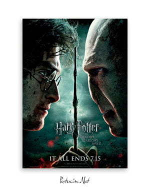 Harry Potter ve Ölüm Yadigârları 2 Poster