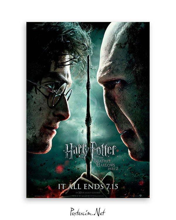 Harry Potter ve Ölüm Yadigârları 2 Poster