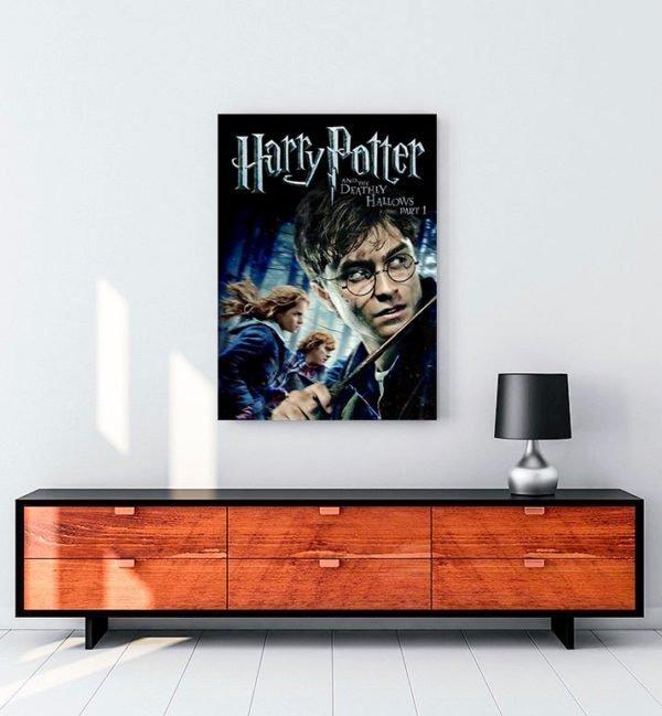Harry Potter ve Ölüm Yadigârları Kanvas Tablo