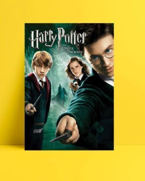 Harry Potter ve Zümrüdüanka Yoldaşlığı Afişi