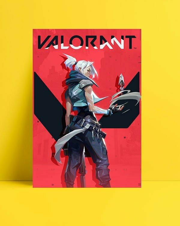 Valorant - Jet Oyun Afişi