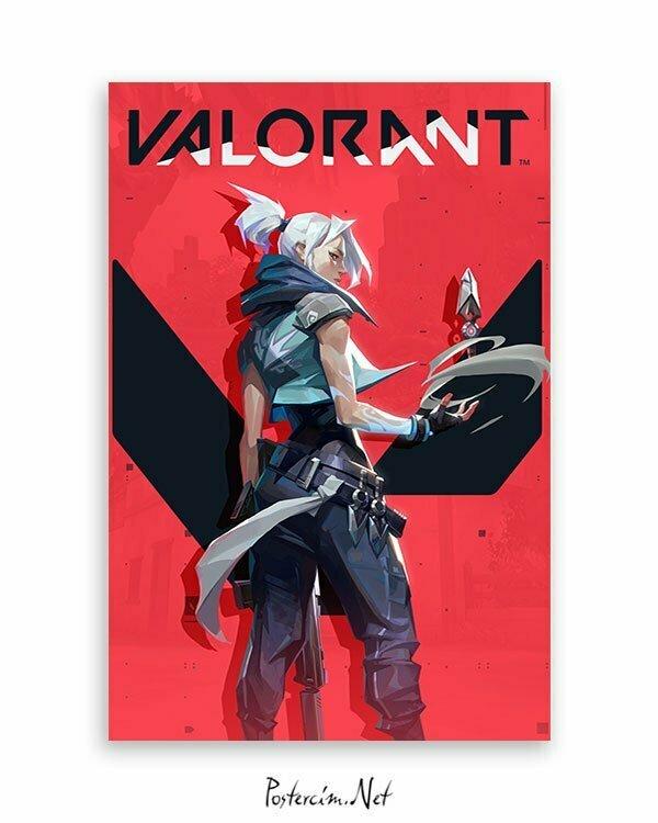 Valorant - Jet Oyun Posteri