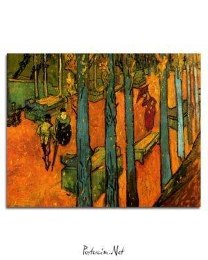 1888-Van-Gogh-Les-Alycamps-tablo
