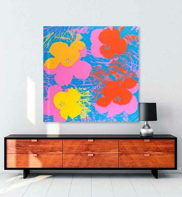 Flowers-kanvas-tablo