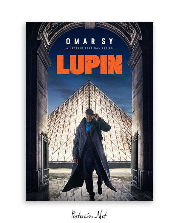 Lupin dizi afişi