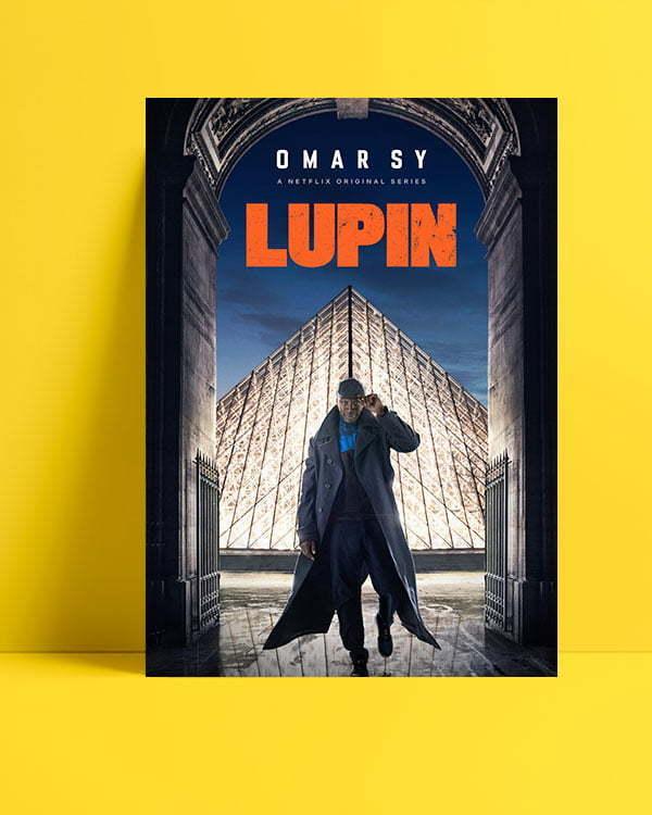 Lupin dizi posteri