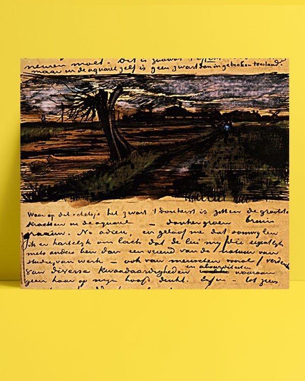 Vincent Van Gogh 01 août afis al