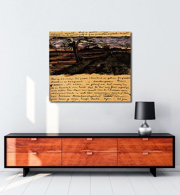 Vincent Van Gogh 01 août tablo