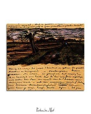 Vincent Van Gogh 01 août poster al