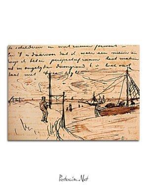Vincent Van Gogh 05 août poster al