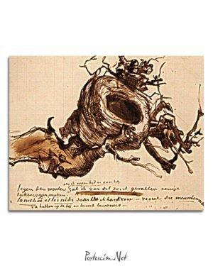 Vincent Van Gogh 09 fin septembre poster al