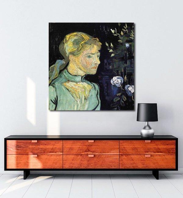 Vincent Van Gogh Adeline Ravaux 1 tablo al