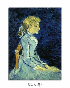 Vincent Van Gogh Adeline Ravaux poster al