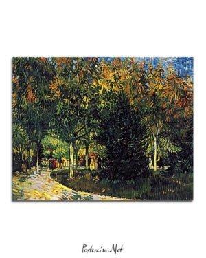 Vincent-Van-Gogh-Allée-dans-le-parc-poster