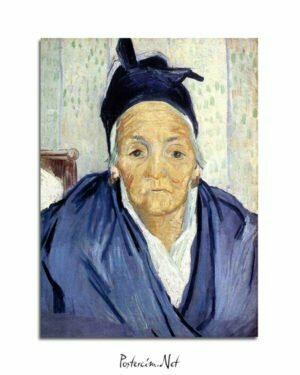 Vincent Van Gogh An Old Woman of Arles Oil on canvas poster al