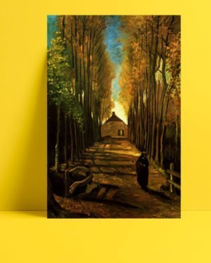 Vincent-Van-Gogh-An-alley-in-autumn-afis