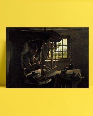 Vincent Van Gogh Anthon van Rappard Le Tisserand afis al