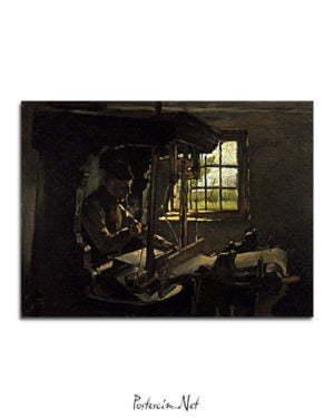 Vincent Van Gogh Anthon van Rappard Le Tisserand poster al