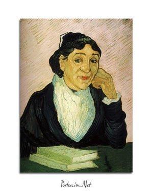 Vincent-Van-Gogh-Arlésienne-portrait-de-Madame-Ginoux-poster