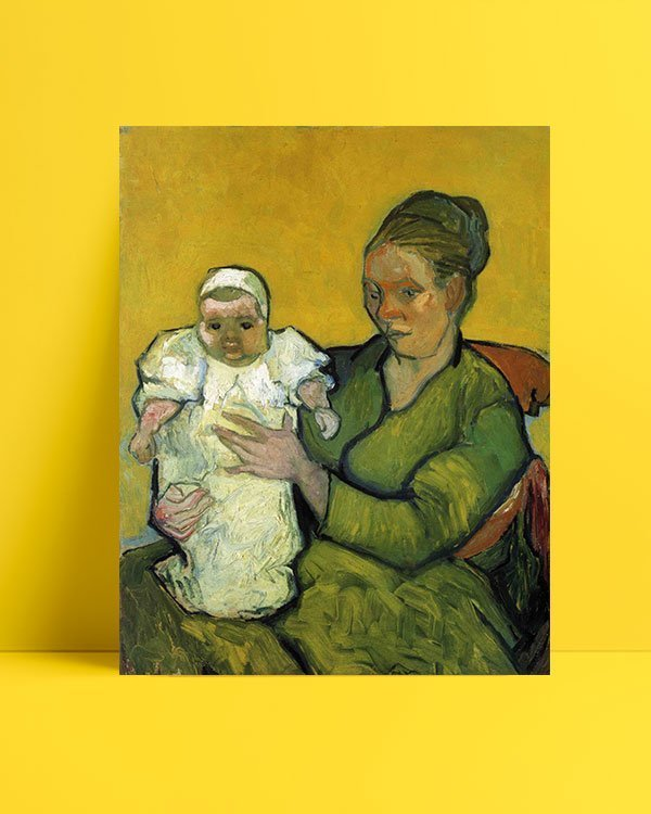 Vincent Van Gogh Augustine Roulin with her Baby afis al
