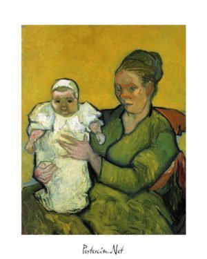 Vincent Van Gogh Augustine Roulin with her Baby poster al