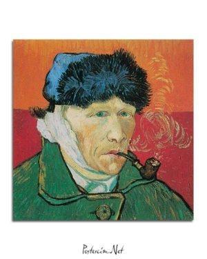 Vincent Van Gogh Autoportrait à l'oreille coupée poster al
