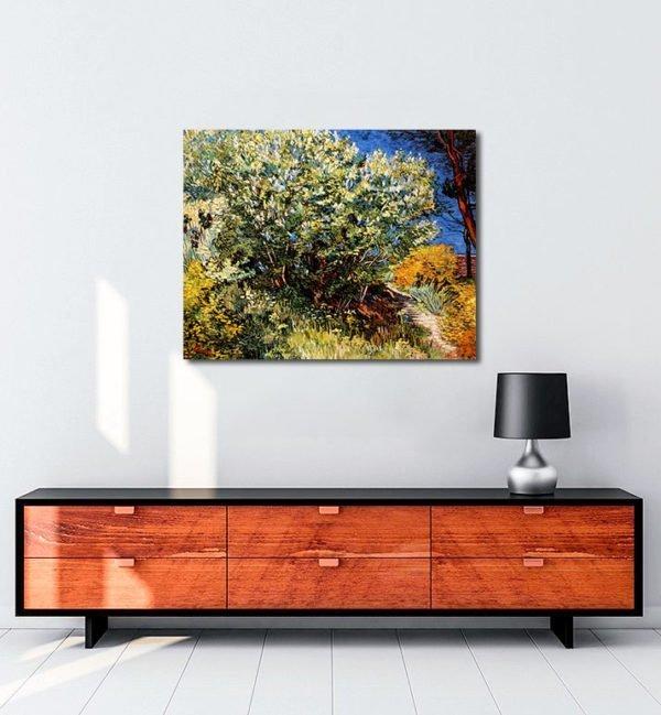 Vincent-Van-Gogh-Bush-of-lilac-tablo
