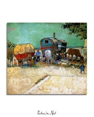 Vincent-Van-Gogh-Camp-de-Bohémiens-poster