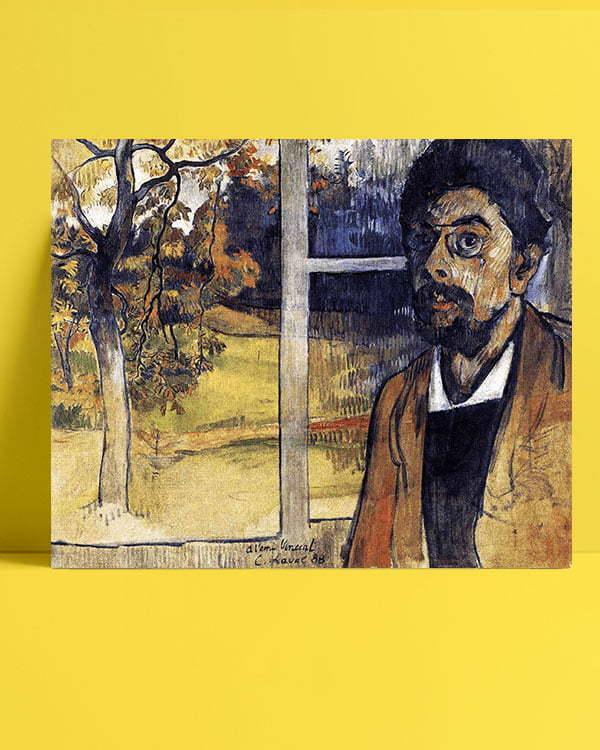 Vincent Van Gogh Charles Laval Self Portrait afis al
