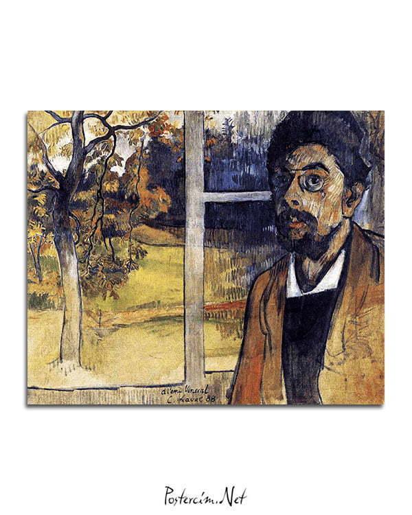 Vincent Van Gogh Charles Laval Self Portrait poster al