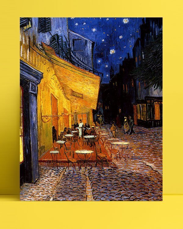 Vincent Van Gogh Coffee of the evening afis al