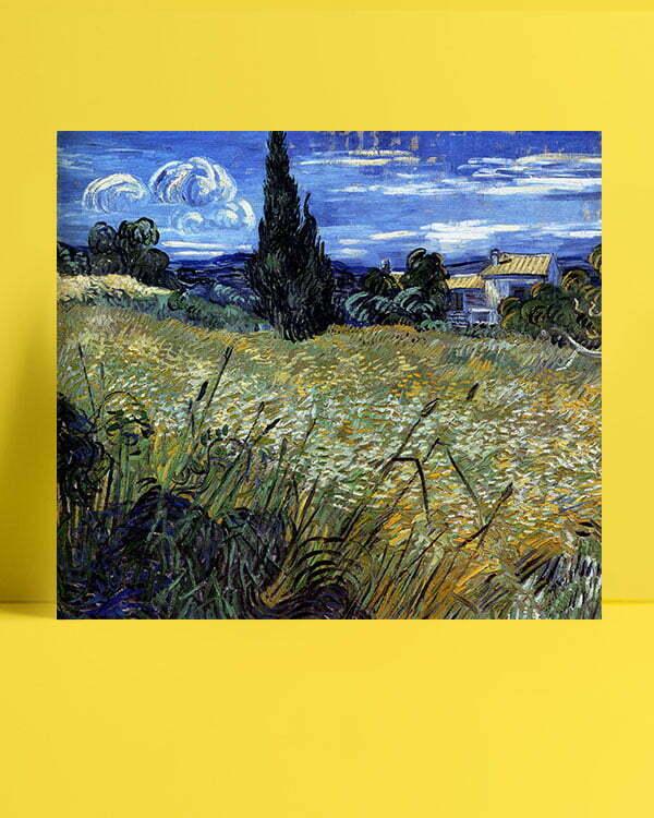 Vincent Van Gogh Corn field afis al