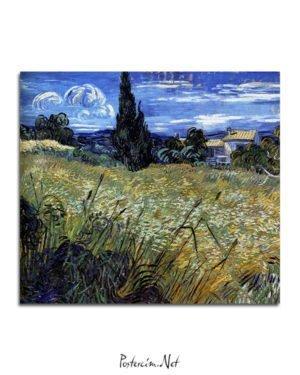 Vincent Van Gogh Corn field poster al