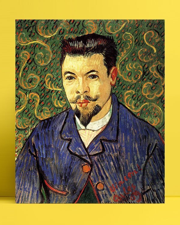 Vincent Van Gogh Docteur Félix Rey afis al