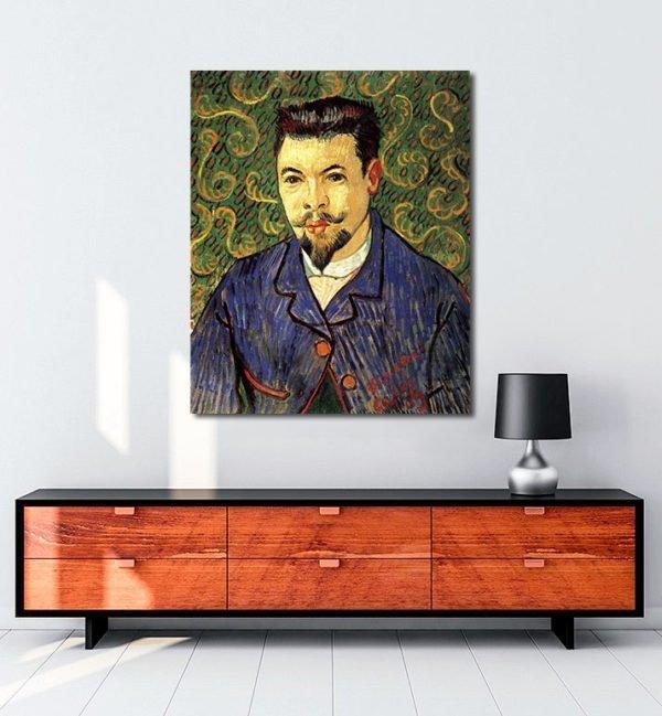 Vincent Van Gogh Docteur Félix Rey tablo al