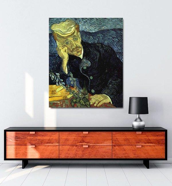 Vincent Van Gogh Doctor Gachet tablo al