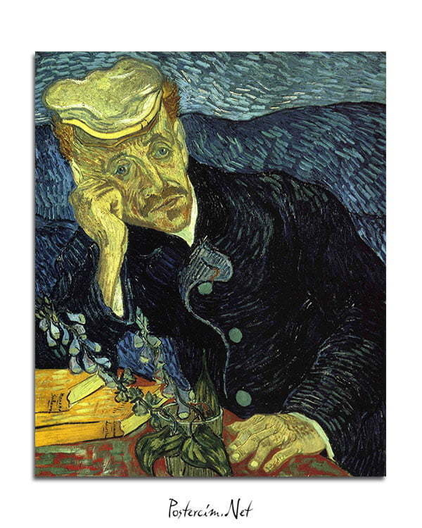 Vincent Van Gogh Doctor Gachet poster al