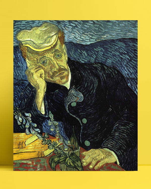 Vincent Van Gogh Doctor Gachet afis al