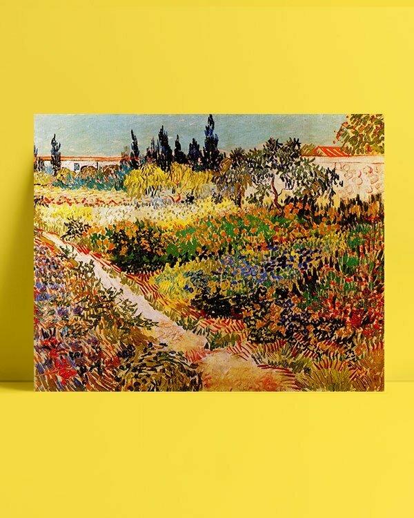 Vincent Van Gogh Enclosure of garden afis al