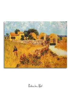 Vincent Van Gogh Ferme en Provence poster al