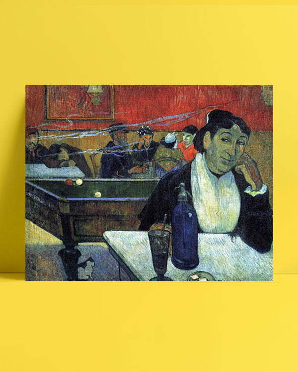 Vincent Van Gogh Gauguin The Night Café afis