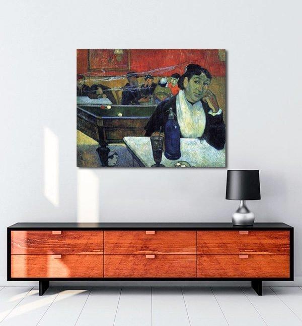 Vincent Van Gogh Gauguin The Night Café tablo