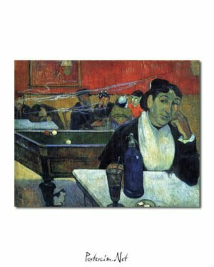 Vincent Van Gogh Gauguin The Night Café poster
