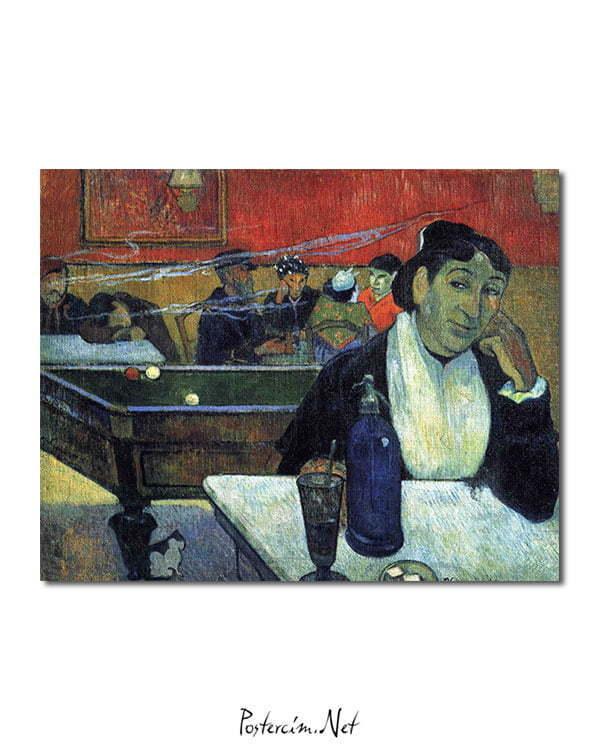 Vincent Van Gogh Gauguin The Night Café poster
